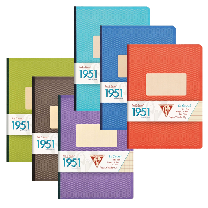 Clairefontaine 1951 Notebooks