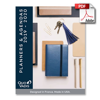 Quo Vadis 2019/2020 Product Catalog