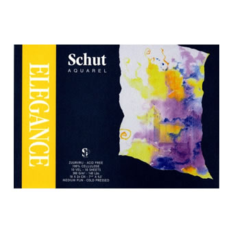 Elegance watercolor blocks & sheets | Buy Now | Schut Fine Art Paper