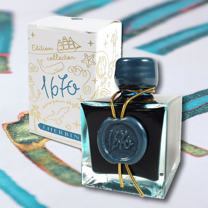 Herbin '1670' Anniversary Fountain Pen Inks